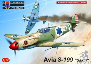 """Avia S-199 """"Sakin"""" 1/72 [AZmodel]"""