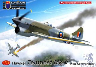 """Hawker Tempest Mk.V """"Wing Commanders"""" 1/72 [AZmodel]"""