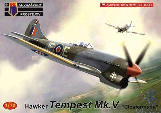 "Hawker Tempest Mk.V ""Clostermann"" 1/72 [AZmodel]"