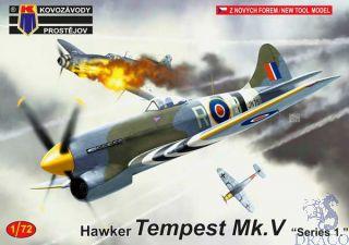 "Hawker Tempest Mk.V ""Series 1."" 1/72 [AZmodel]"