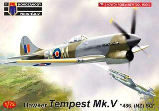 "Hawker Tempest Mk.V ""486. (NZ) SQ"" 1/72 [AZmodel]"