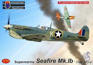 """Supermarine Seafire Mk.Ib """"Over Africa"""" 1/72 [AZmodel]"""