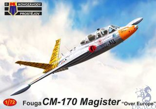 """Fouga CM-170 Magister """"Over Europe"""" 1/72 [AZmodel]"""