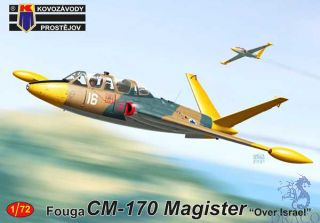 "Fouga CM-170 Magister ""Over Israel"" 1/72 [AZmodel]"
