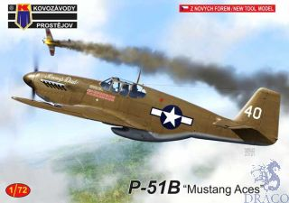 """P-51B """"Mustang Aces"""" 1/72 [AZmodel]"""