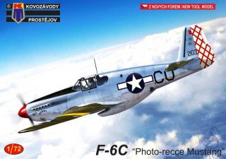 """F-6C """"Photo-recce Mustang"""" 1/72 [AZmodel]"""