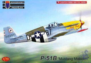 "P-51B ""Mustang Malcolm"" 1/72 [AZmodel]"