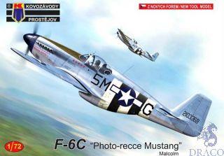 "F-6C ""Photo-recce Mustang"" Malcolm 1/72 [AZmodel]"