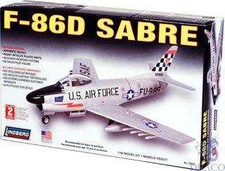 F-86D Sabre 1/48 [Lindberg]