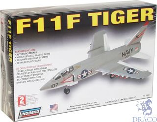 F11F Tiger 1/48 [Lindberg]