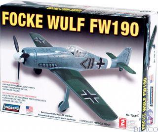 Focke Wulf FW 190 1/72 [Lindberg]