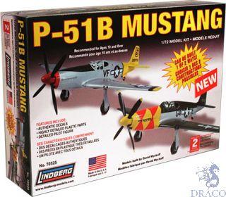 P-51B Mustang 1/72 [Lindberg]