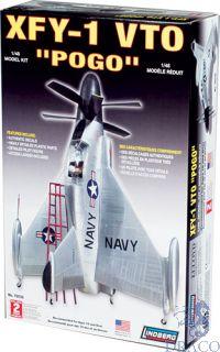 Convair XFY-1 VTO Pogo 1/48 [Lindberg]