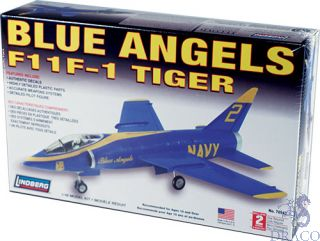 Blue Angels F11F-1 Tiger 1/48 [Lindberg]