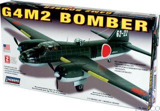 G4M2 Bomber 1/72 [Lindberg]