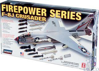 Firepower Series F8-J Crusader 1/48 [Lindberg]