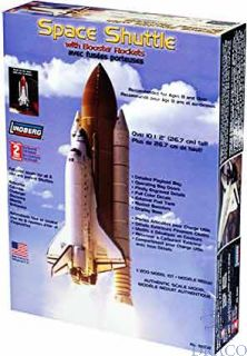 Space Shuttle with Booster Rockets 1/200 [Lindberg]