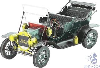 1908 Ford Model T (Dark Green) [Metal Earth: Classic Ford]