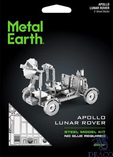 Apollo Lunar Rover [Metal Earth: Space]