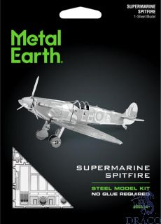 Supermarine Spitfire [Metal Earth: Aviation]