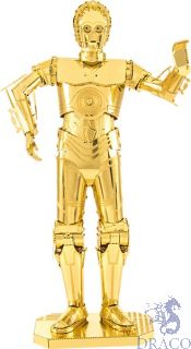 C-3PO [Metal Earth: Star Wars - The Last Jedi]