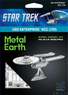 USS Enterprise NCC-1701 [Metal Earth: Star Trek]