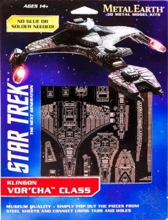 Klingon Vor'cha Class [Metal Earth: Star Trek]