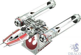 Zorri's Y-Wing Fighter  [Metal Earth: Star Wars - The Rise of Skywalker]