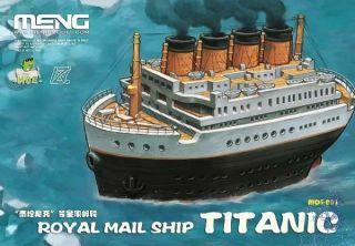 Egg Ship Royal Mail Ship Titanic  [Meng Models]