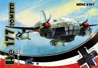 Meng Kids: He 177 Bomber [Meng]