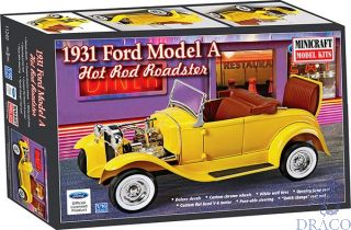 1931 Ford Model A Hot Rod Roadster 1/16 [Minicraft]