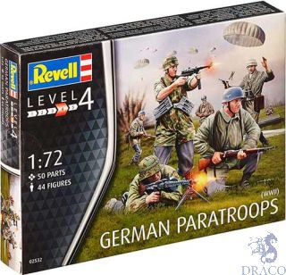 German Paratroops (WWII) 1/76 [Revell]