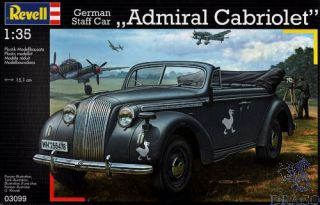 "German Staff Car ""Admiral Cabriolet"" 1/35 [Revell]"