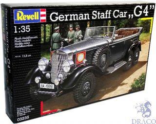 German Staff Car G4 1/35 [Revell]