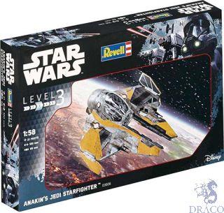 Anakin´s Jedi Starfighter 1/58 [Revell]