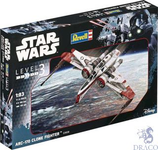 ARC-170 Clone Fighter 1/83 [Revell]
