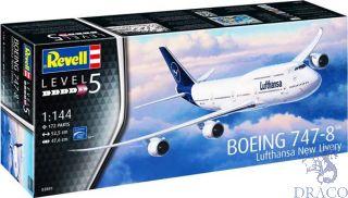 "Boeing 747-8 Lufthansa ""New Livery"" 1/144 [Revell]"