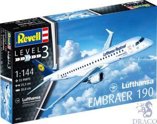 """Embraer 190 """"Lufthansa""""  1/144 [Revell]"""