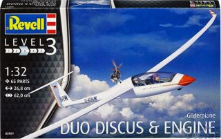 Gliderplane Duo Discus & Engine 1/32 [Revell]