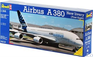 """Airbus A380 """"New Livery"""" 1/144 [Revell]"""