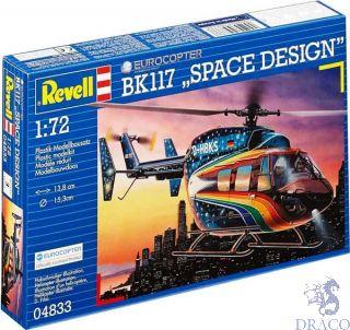 """Eurocopter BK 117 """"Space Design"""" 1/72 [Revell]"""