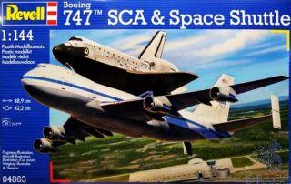 Boeing 747 SCA & Space Shuttle 1/144 [Revell]
