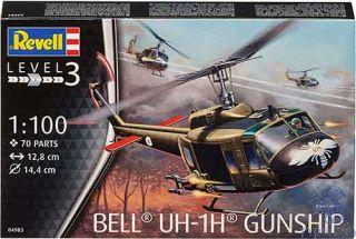 Bell UH-1H Gunship 1/100 [Revell]