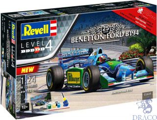 Benetton Ford B194 25 Years Anniversary Gift Set 1/24 [Revell]