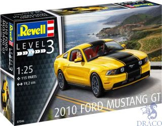 2010 Ford Mustang GT 1/25 [Revell]