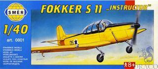 """Fokker S 11 """"Instructor"""" 1/40 [Smer]"""