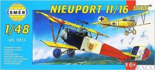 """Nieuport 11/16 """"Bebe"""" 1/48 [Smer]"""