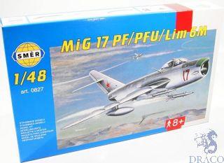 Mig 17 PF/PFU/Lim 6M 1/48 [Smer]