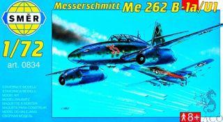 Messerschmitt Me 262B1a/U1 (Schwalbe) 1/72 [Smer]