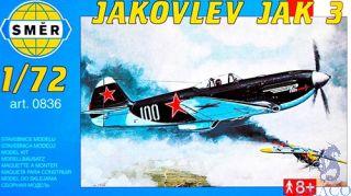 Jakovlev Jak 3 (YAK-3) 1/72 [Smer]